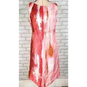 Suzi Chin Maggie Boutique 100% Silk Floral Dress